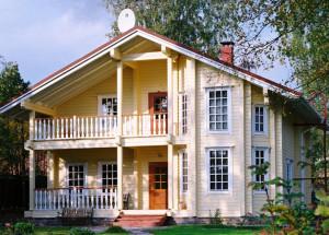 Скандинавские дома о деревянных домах