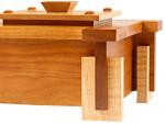 Архитектурная деревянная шкатулка