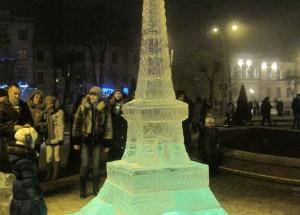 Ice Art: лед в ландшафте и интерьере вашего дома в Украине