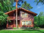 Проект небольшого деревянного дома с мансардой