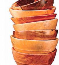 Деревянные плошки прослужат долго