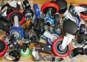 Колесные опоры для мобильного оборудования