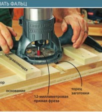 Приспособление-кондуктор для фрезирования пазов, фальцев, и соединений вполдерева