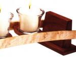 Дуговой подсвечник на пять свечей