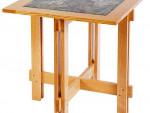 Стол с керамической вставкой