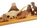 Деревянная игрушка - динозавры