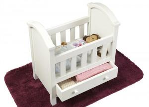 Кровать для кукол своими руками
