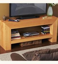 Современный массивный стол для телевизора своими руками
