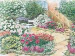 Выходишь в сад – всюду медовый аромат
