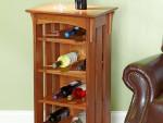 Стеллаж для винных бутылок из дерева