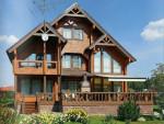 Проект красивого деревянного дома