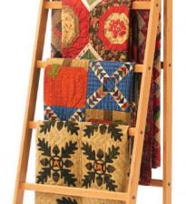 Вешалка-лесенка для одеял, пледов и покрывал