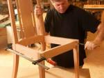 Элегантный стул из дерева своими руками