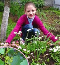 Огород тоже для детей