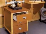 Тумба-комод с тремя ящиками для мастерской
