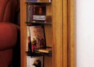Хранилище-стойка для CD и DVD-дисков