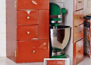 Шкаф-гараж для кухонной техники