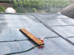 Летний водонагреватель с крыши