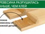 Водостойкий клей для садовой мебели