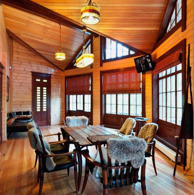 Проект гостевого деревянного дома
