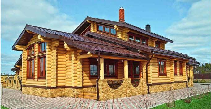Проект частного деревянного дома
