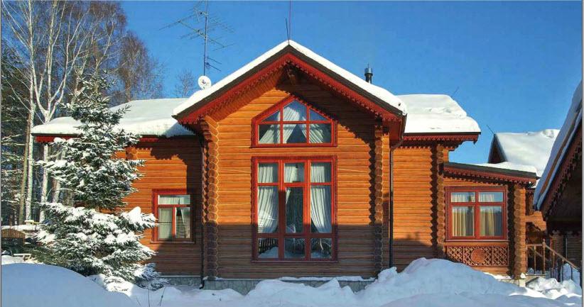 Проект деревянного жилого дома