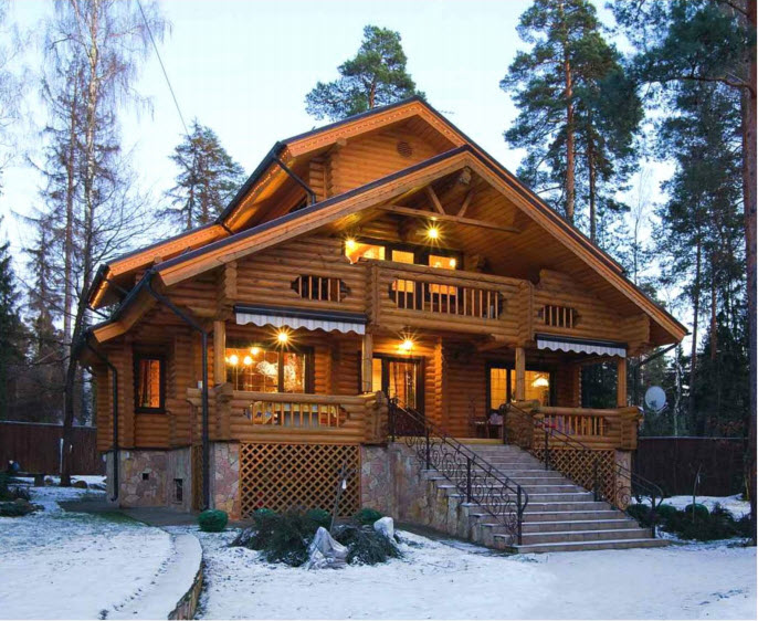 Проект реконструкции деревянного дома