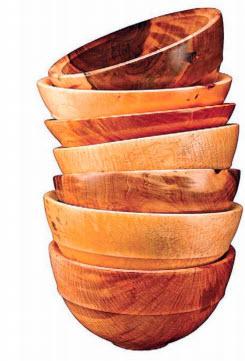 Деревянные плошки
