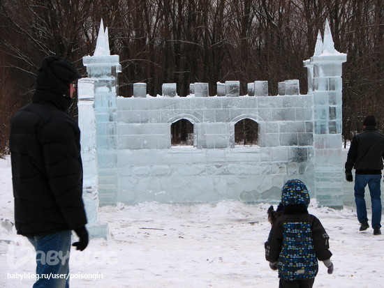 Замок из льда