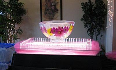 Наборы посуды изо льда