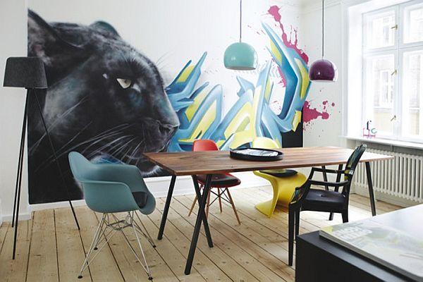 Пантера в столовой