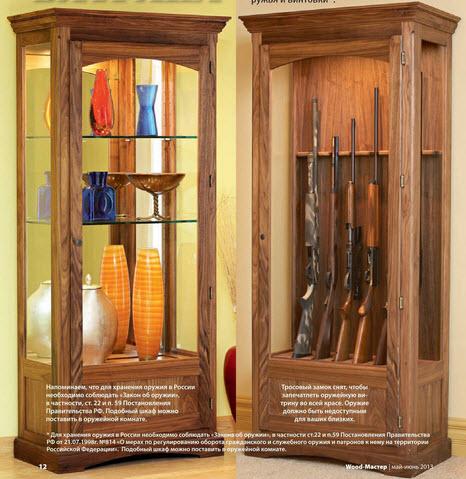 Шкаф витрина своими руками