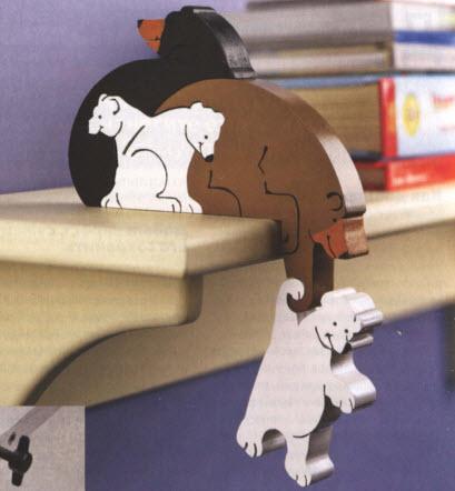 "Пазлы-головоломка ""Веселые медведи"""