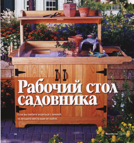 Рабочий стол садовника
