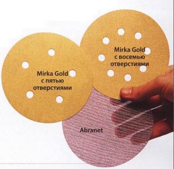 Шлифовальные диски Abranet.