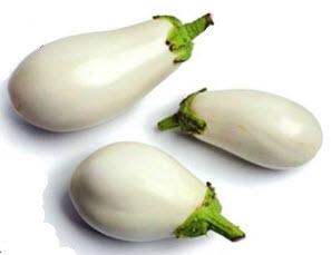 Белые баклажаны