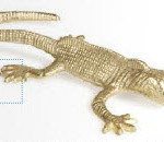 Скульптура Decorative Lizard