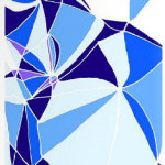 Постер Aqua Blue, Mosaic Collection, Villavera