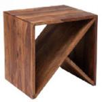 Табурет-столик Authentico Cube ZigZag, KARE