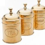 Емкости для хранения Canister Antico Brass
