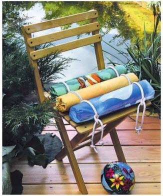 Подушка для садового стула