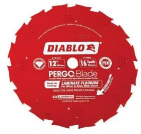 Пильные диски Pergo 250 мм (no. D1012LF), $115 300 мм (по. D1216LF), $135